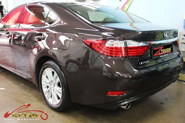 Lexus ES250 with ZeTough Ceramic Paint Protection Coating