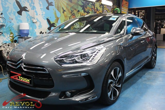 Citroën DS5 with ZeTough Glass Coating Paint Protection