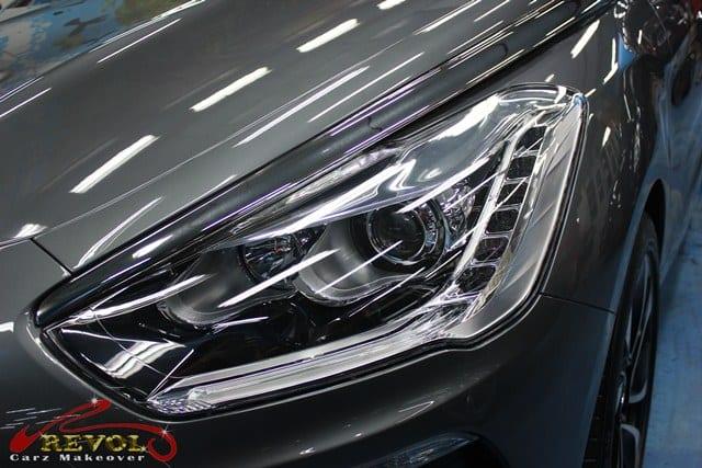 Citroën DS5 with ZeTough Glass Coating Paint Protection