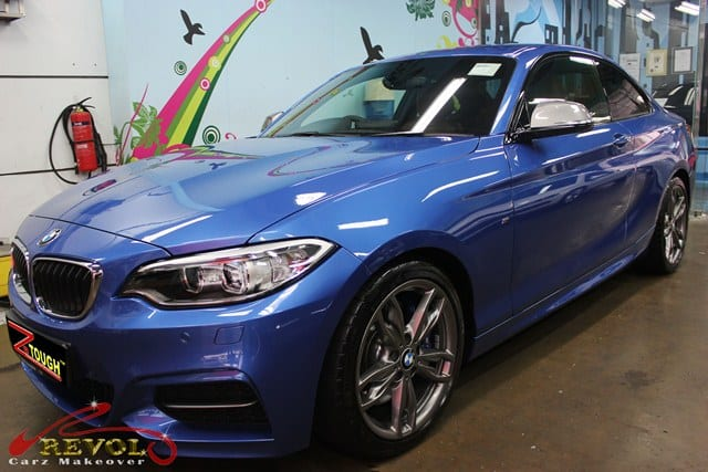 BMW M235i with ZeTough Ceramic Paint Protection Coating