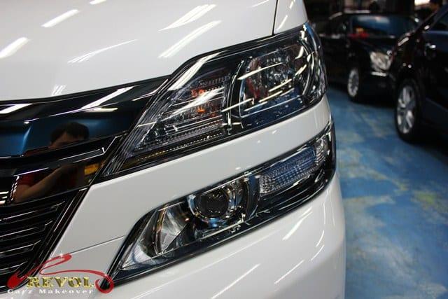 Toyota Vellfire with ZeTough Ceramic Paint Protection Coating