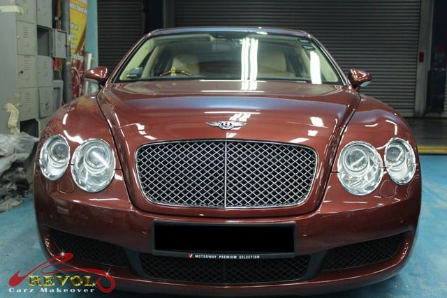 Bentley Continental Flying Spur before