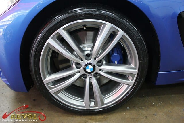 Bmw 435ci with zetough ceramic paint protection coating for Mirror r18 patch