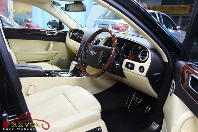 Bentley Continental Flying Spur  - interior