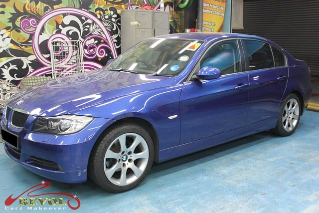 BMW 3 series change colour (1)