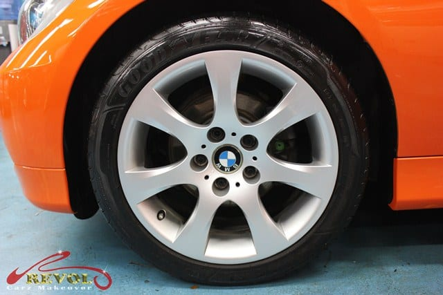 BMW 3 series change colour (19)