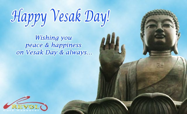 Wonderful Vesak Day to You and Your Family!