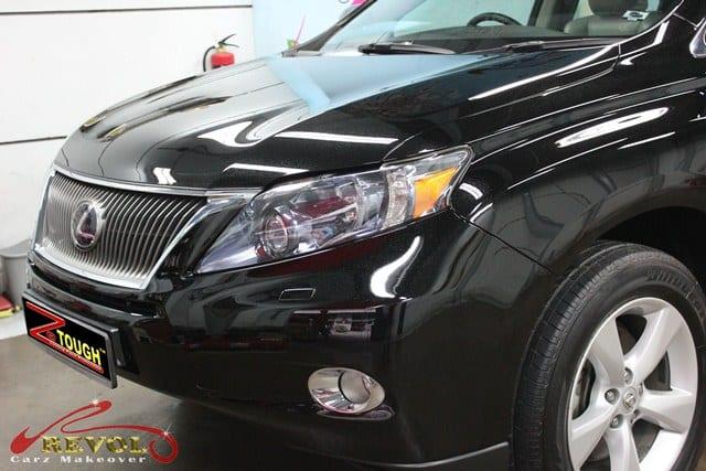 Full ZeTough Coating Paint Protection for Lexus