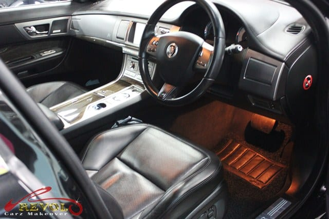 jaguar xfr with zetough ceramic paint protection coating revol car grooming singapore 39 s. Black Bedroom Furniture Sets. Home Design Ideas