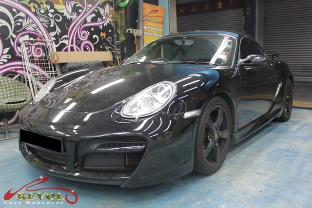 Revol Carz Makeover with Ceramic Coating on Porsche Cayman (1)