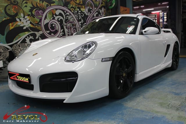Revol Carz Makeover with Ceramic Coating on Porsche Cayman (10)