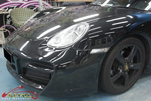 Revol Carz Makeover with Ceramic Coating on Porsche Cayman (2)
