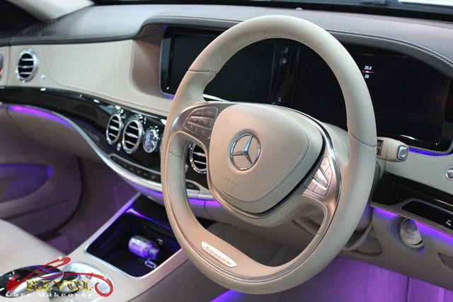mercedes benz s400 with zetough ceramic paint protection coating revol car grooming. Black Bedroom Furniture Sets. Home Design Ideas
