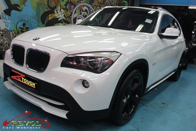 Ceramic Paint Protection for BMW X1 10