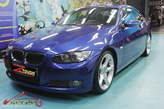 BMW 3Series - Full Car Re-Spray Paint Protection 10