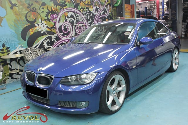bmw 3series full car spray painting with zetough ceramic. Black Bedroom Furniture Sets. Home Design Ideas