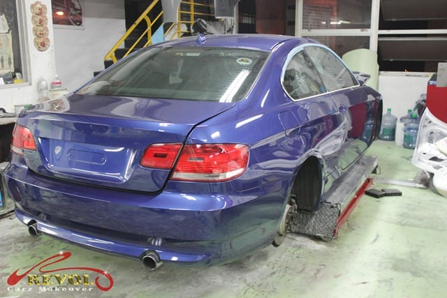 BMW 3Series - Full Car Re-Spray Paint Protection 6