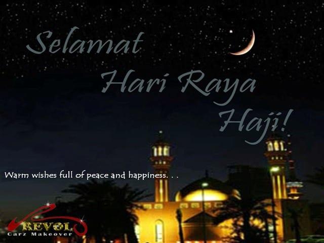Warm Wishes To Everyone! Selamat Hari Raya Haji!