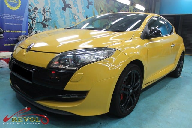 Ceramic Coating Paint Re-Spray for Renault Megane RS 1