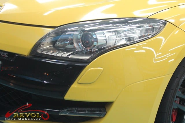 Ceramic Coating Paint Re-Spray for Renault Megane RS 10a