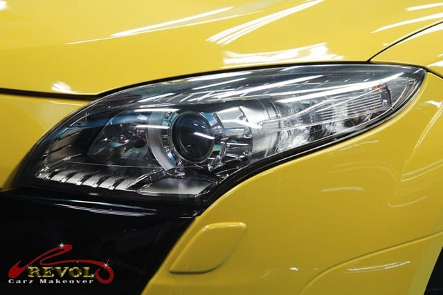 Ceramic Coating Paint Re-Spray for Renault Megane RS 10a1