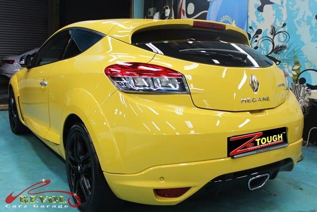 Ceramic Coating Paint Re-Spray for Renault Megane RS 12