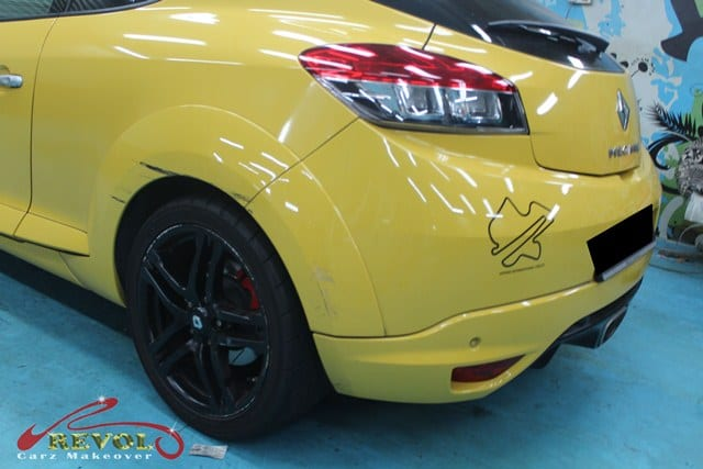 Ceramic Coating Paint Re-Spray for Renault Megane RS 2