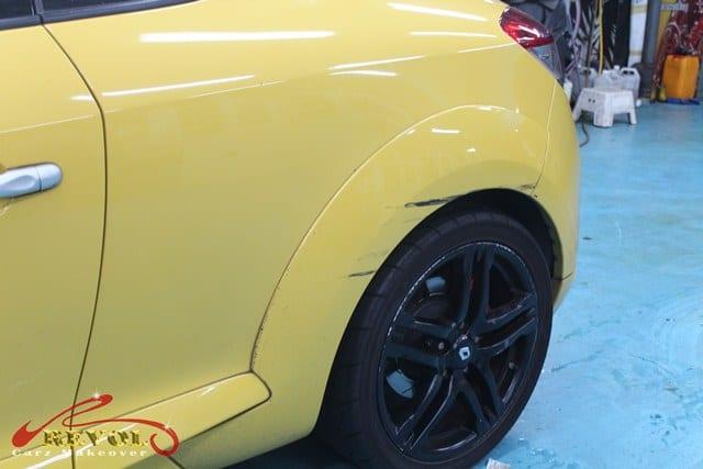 Ceramic Coating Paint Re-Spray for Renault Megane RS 3