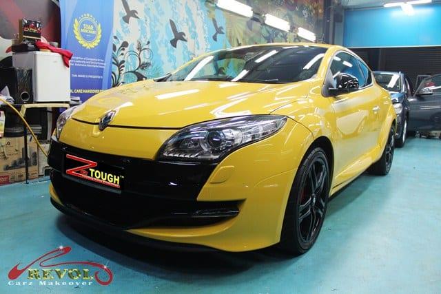 Ceramic Coating Paint Re-Spray for Renault Megane RS 7
