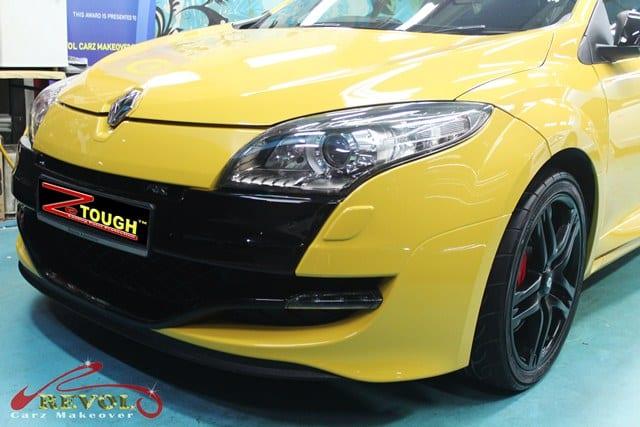Ceramic Coating Paint Re-Spray for Renault Megane RS 8