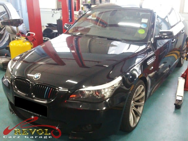BMW engine and gear oil leakage issues fixed at Revol Carz