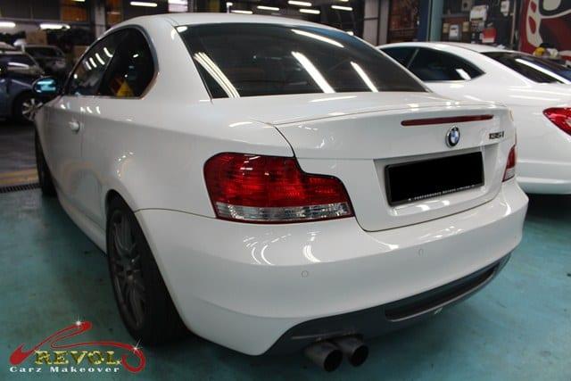 BMW 135i Full Spray Paint with Ceramic Coating finishing 3