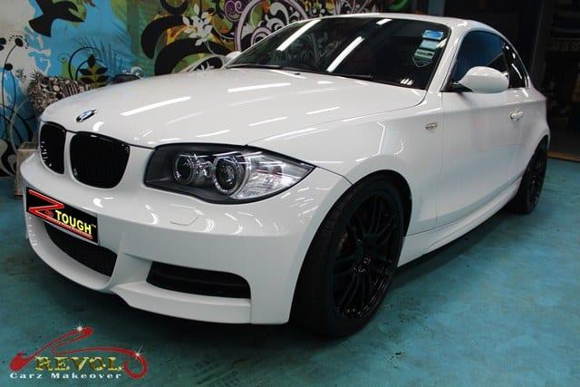BMW 135i Full Spray Paint with Ceramic Coating finishing 4