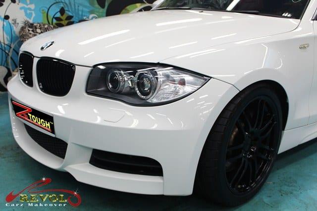 BMW 135i Full Spray Paint with Ceramic Coating finishing 5