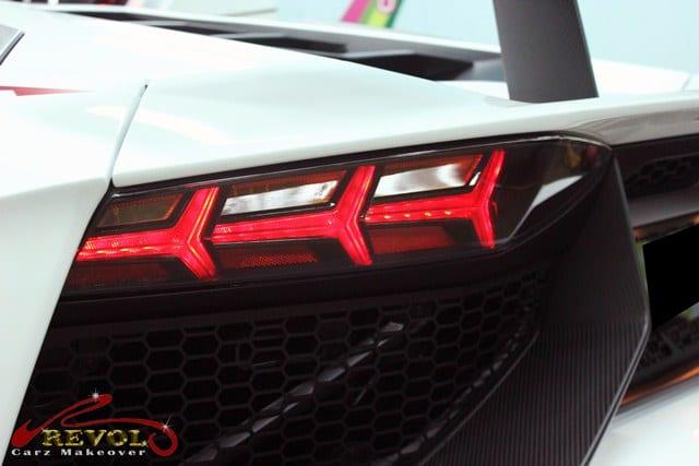 Aventador - taillights
