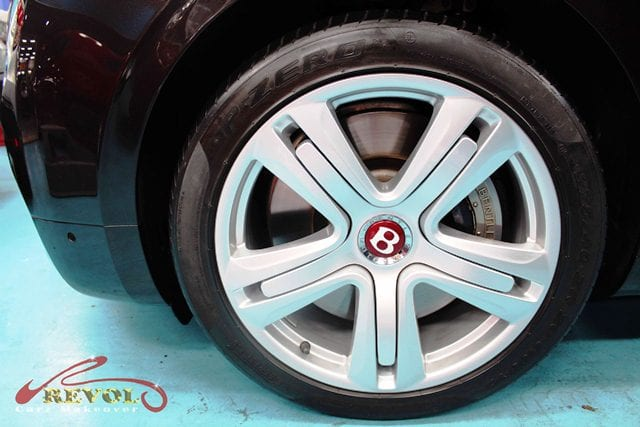The Bentley Flying Spur - Wheel
