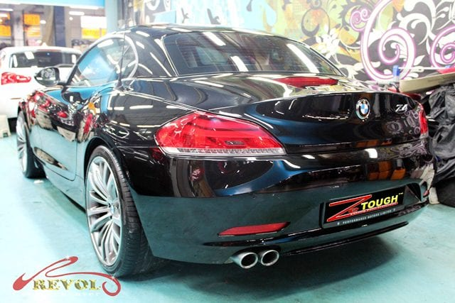 Bmw Z4 Full Car Spray Painting With Zetough Ceramic Paint