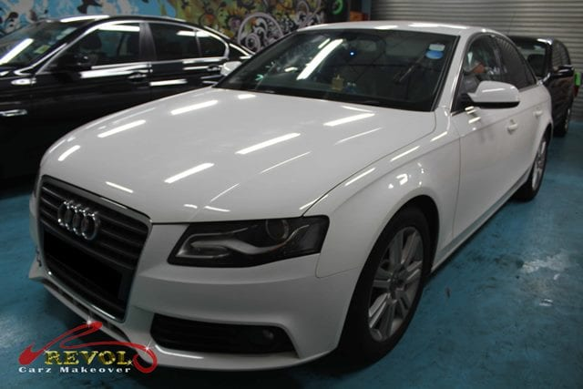 Audi A4 1 8t Full Car Spray Painting With Zetough Ceramic Paint