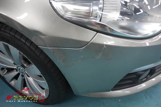 VOLKSWAGEN PASSAT CC 1 8T Full Car Spray Painting with ZeTough