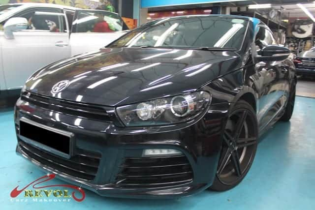VOLKSWAGEN SCIROCCO R 2 0L AT 137RX3 Full Car Spray Painting with