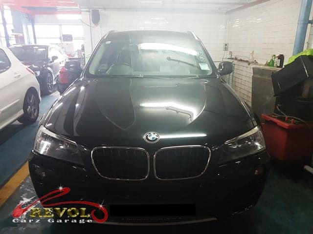 A BMW X3 came to our workshop with air conditioning problems