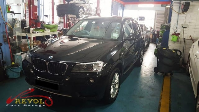 A BMW X3 came to our workshop with air conditioning problems | Revol