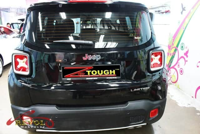 Paint Protection on Jeep Renegade Limited 1.4T 6DDCT 2WD