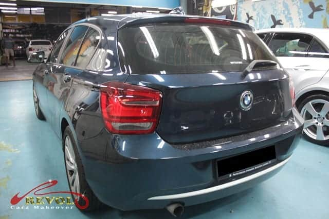 Paint Protection for BMW 118i AT ABS DAIRBAG 2WD HID 5DR