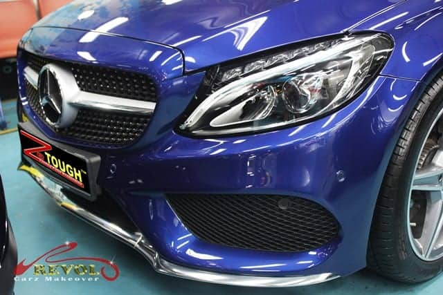 MERCEDES BENZ C180 COUPE AMG LINE with Ceramic Coating