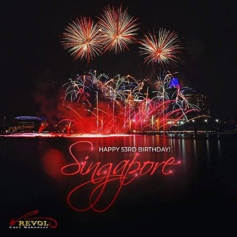 Happy 53rd National Day Singapore!