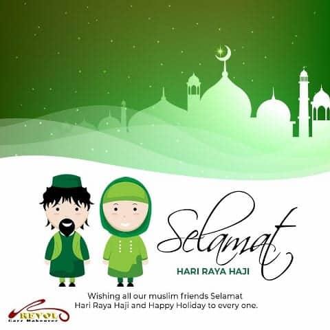 Peace and Joy, Selamat Hari Raya Haji!