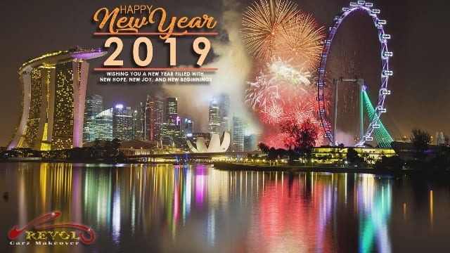 Happy New Year 2019! Greetings to you and your family!