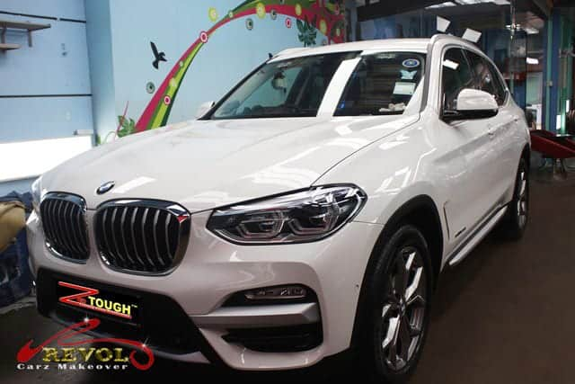 BMW X3 SDRIVE20i with ZeTough Ceramic Paint Protection