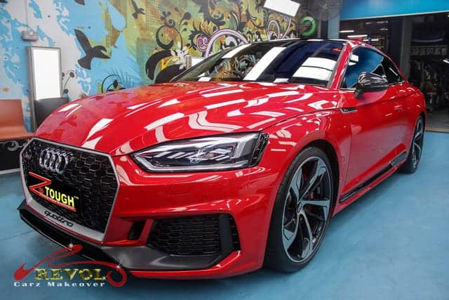 AUDI RS5 COUPE 2.9 TFSI QU TIP (SR) with Premium Paint Protection